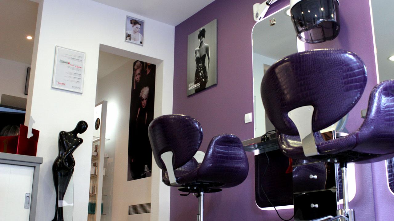 Le salon de coiffure beatrice louchet l b b atrice - Le salon de coiffure ...